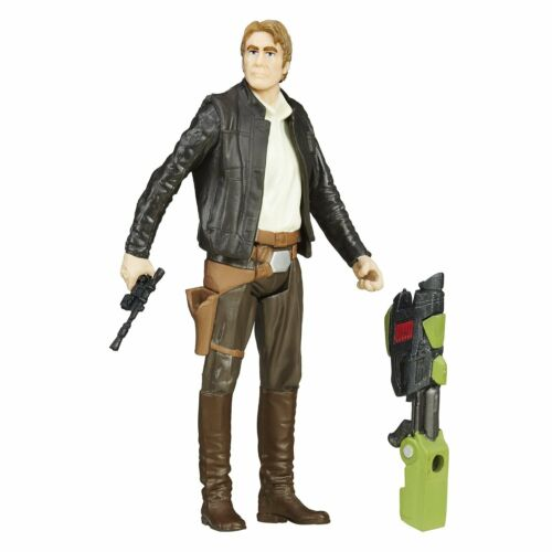 STAR WARS THE FORCE AWAKENS JUNGLE MISSION 3.75-INCH HAN SOLO ACTION FIGURE