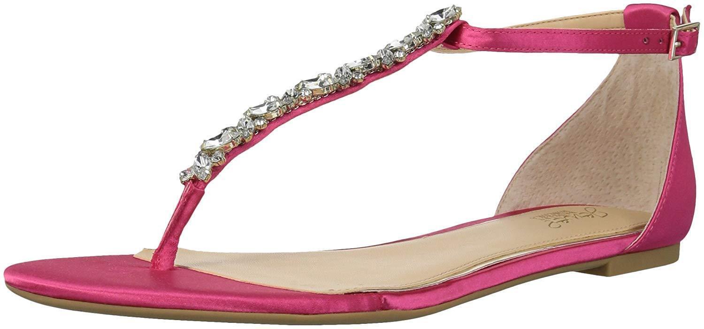 Jewel Badgley Mischka para mujer Carrol plana sandalm-Pick Talla Talla Talla Color.  encuentra tu favorito aquí