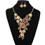 Women-Chunky-Fashion-Crystal-Bib-Collar-Choker-Chain-Pendant-Statement-Necklace thumbnail 66