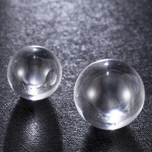 50 NATURAL CLEAR WHITE QUARTZ CRYSTAL SPHERES BALLS HEALING 20-22mm