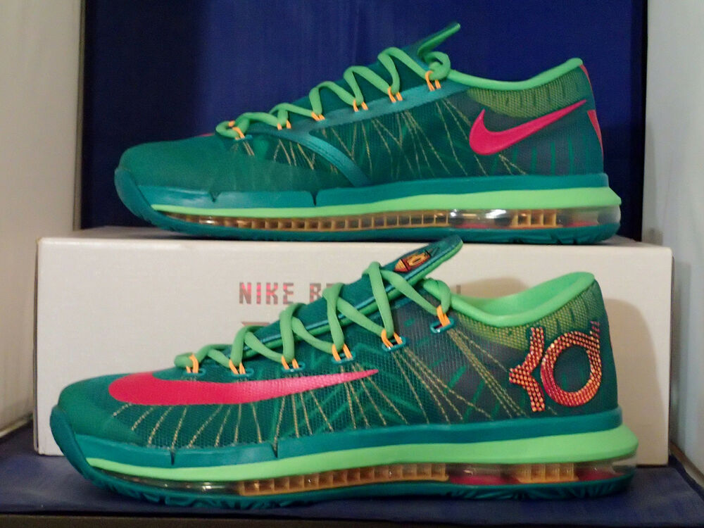 Nike KD VI 6 Elite Superhero Turbo Green Vivid rose  Chaussures de sport pour hommes et femmes