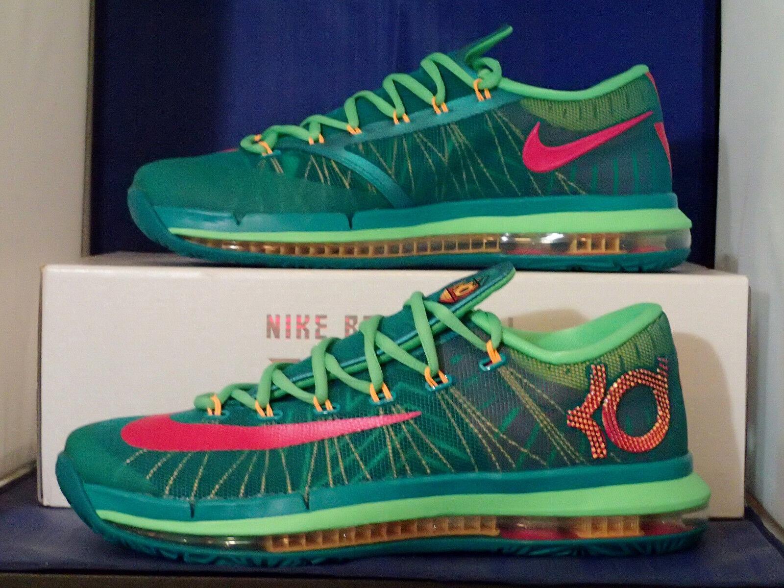 Nike KD VI 6 Elite Superhero Turbo Green Vivid Pink SZ 10.5 ( 642838-300 )