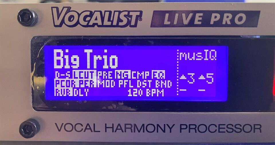 Vocal Harmony and Effects Processor, Digitech Vocalist