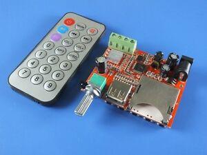 10W-10W-Amplifier-Board-MP3-decoder-board-Dual-channel-stereo-Remote-Contorl