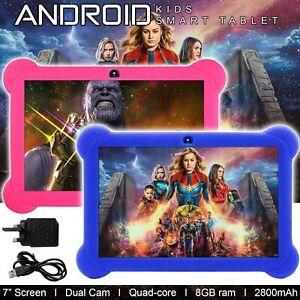 """8GB Android 4.4 7"""" Tablet PC Quad Core Wifi Cámara Regalo para Niños Niños Niños"""
