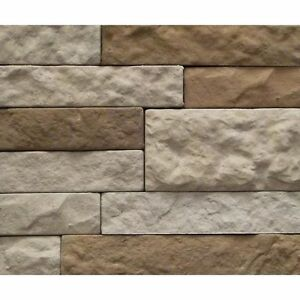 Image Is Loading New Airstone Autumn Mountain Faux Stone Veneer Sample