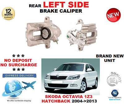 Skoda Octavia 2004-2013 Rear Left Brake Caliper