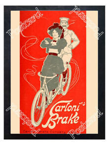 Historic-Carloni-Brake-Company-Cycling-Advertising-Postcard