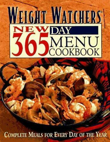 1 of 1 - Weight Watchers New 365-Day Menu Cookbook: Complete Meals for Every Day of the Y