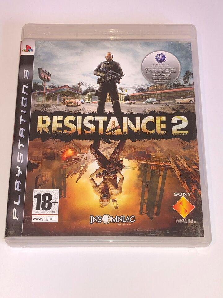 Resistance 2, PS3, FPS
