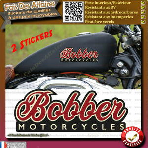 2-Stickers-autocollant-bobber-motorcycles-harley-old-school-moto-custom-decal