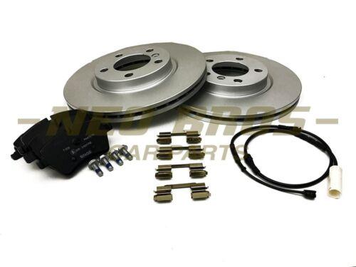 Pagid Front Brake Kit inc Discs Pads /& Sensors for Mini R60 R61 Cooper S /& JCW