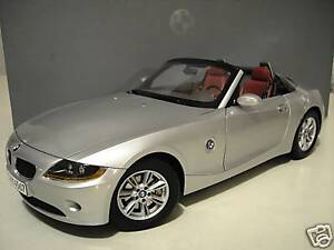 BMW-Z4-cabriolet-convertible-argent-silver-1-12-KYOSHO-80430144060-voiture-minia