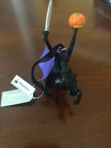 Disney Parks The Headless Horseman Halloween Ornament - Ichabod and Mr. Toad