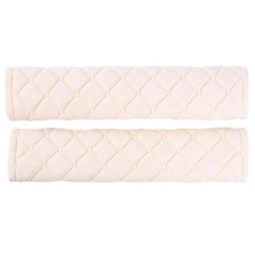 Car Plush Safety Seat Belt Cover Harness Shoulder Soft Cushion Pad O3