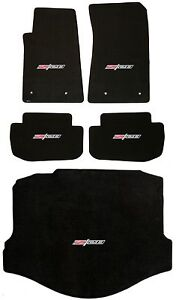 LLOYD-Classic-Loop-Ebony-FLOOR-MAT-SET-Z28-logo-all-5-mats-2014-2015-Camaro-Z28