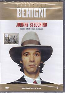 Dvd-JOHNNY-STECCHINO-con-Roberto-Benigni-Nicoletta-Braschi-nuovo-1991