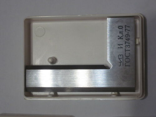 0,0025 mm Machinist Square Beveled Steel // Square 90º Right Angle Accuracy