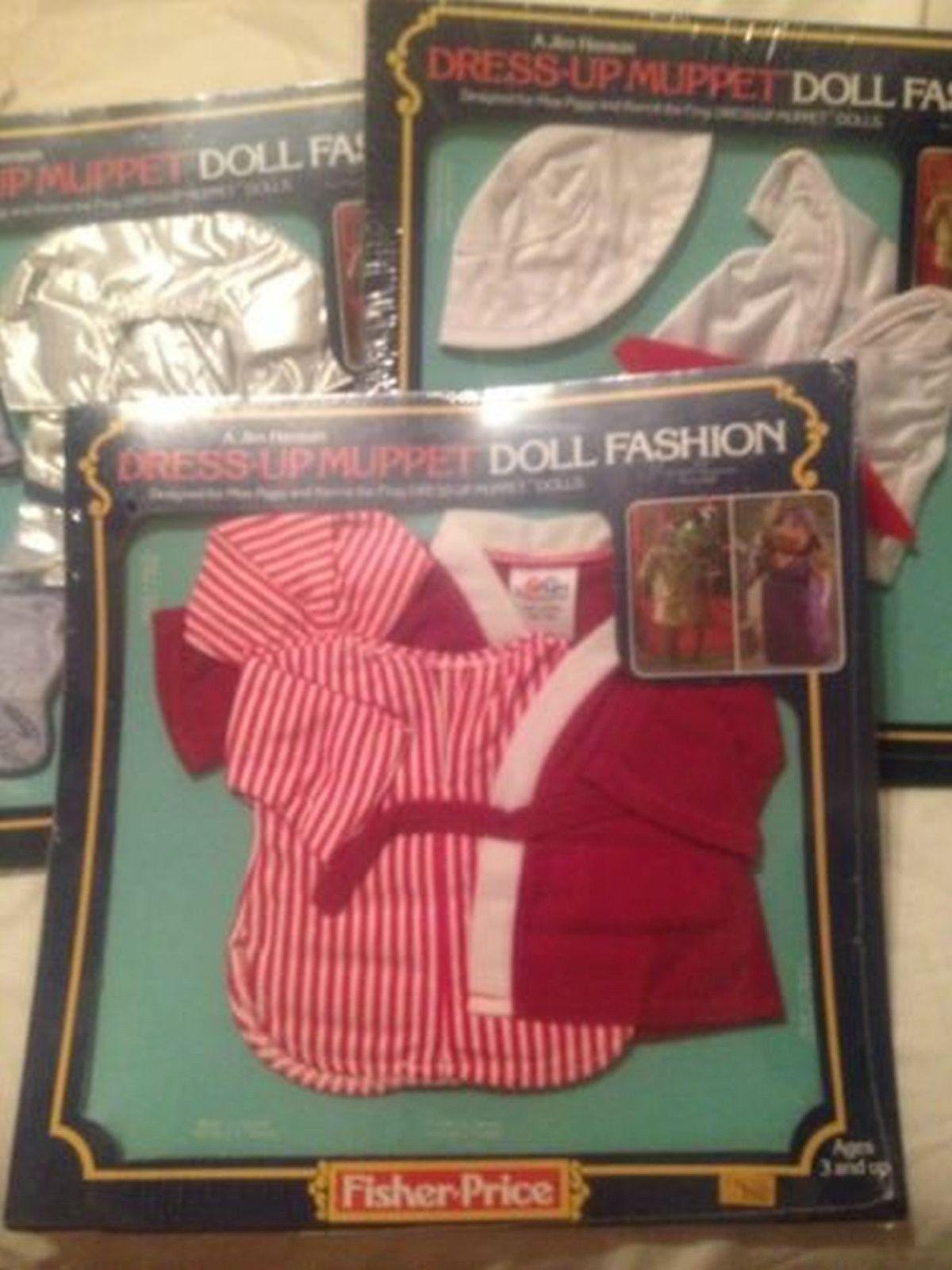 Lot Dress Up Muppet Doll Fashion Kermit Sleepwear Miss Piggy's Pigs Space Sailor