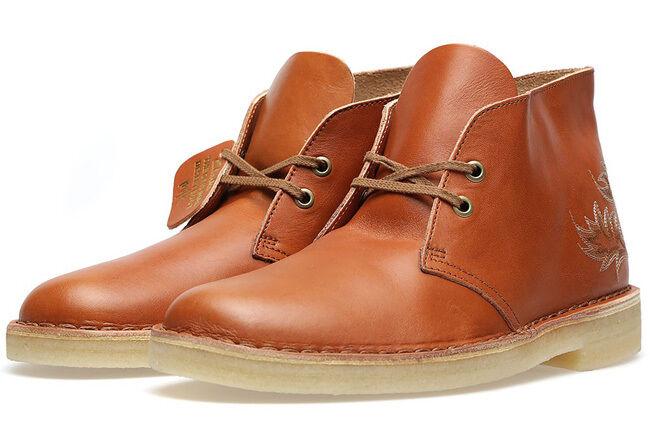 MILK×Clarks Original  DESERT MA  BOOT  Tanned Brown Lea  UK 8.5,9,10,.5 F