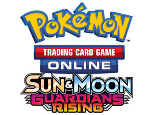 2x Pokemon TCG Online Code Card Sun /& Moon Guardians Rising Sent Via  Email