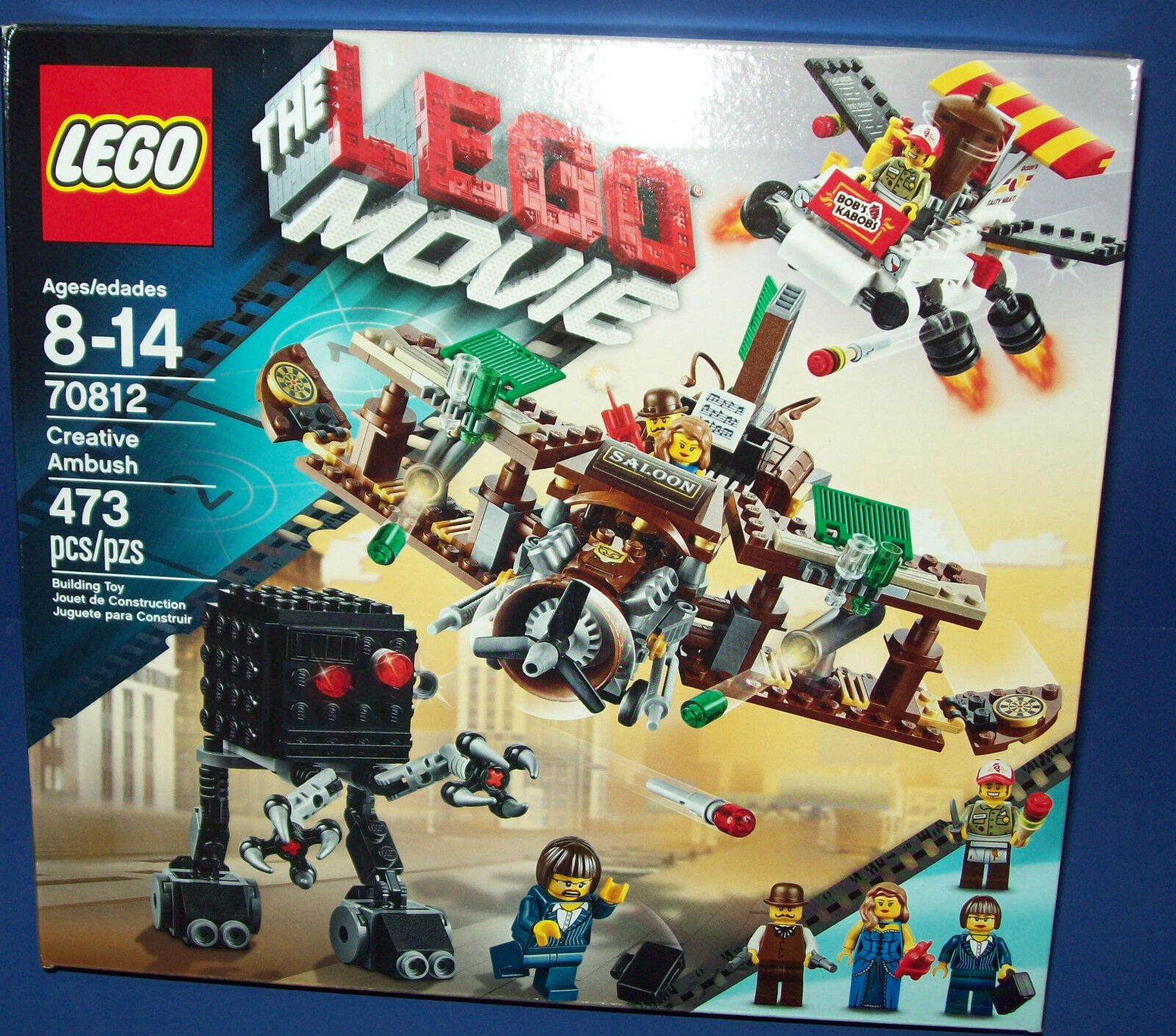 LEGO MOVIE 70812 CREATIVE AMBUSH RetiROT New in BOX