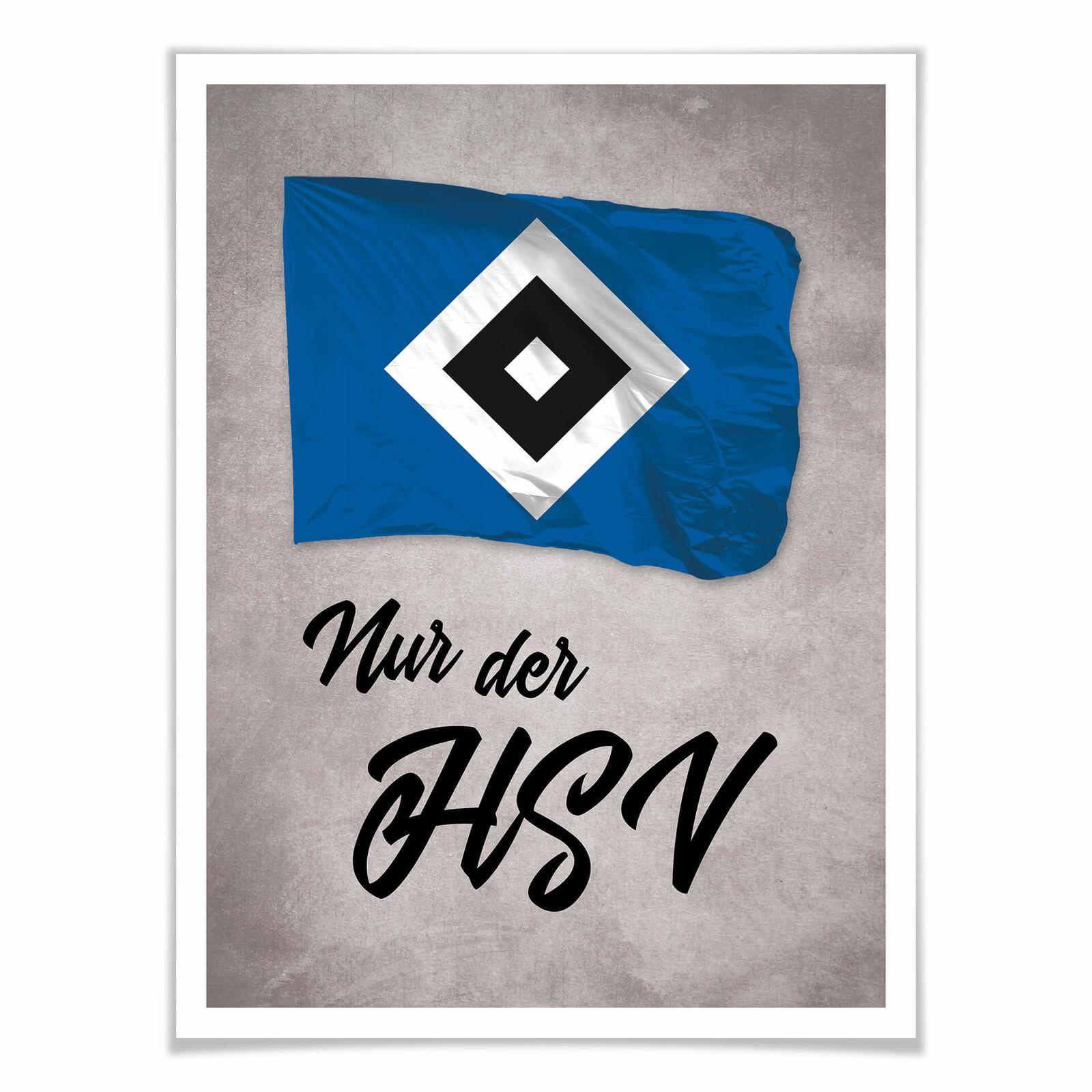 Poster Nur der HSV HSV HSV 02 1be070