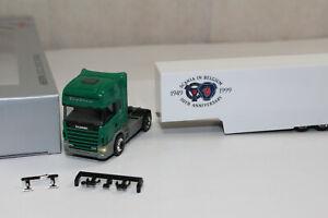ht657, TOP RAR Herpa Sondermodell Scania 144L 530 Topline 50 Jahre Belgien / Bel