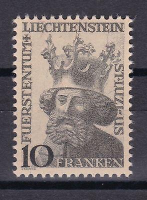 Briefmarken Offizielle Website Liechtenstein 1946 Postfrisch Minr Motive 247 Luzius Schutzpatron Des Landes Elegant Im Geruch