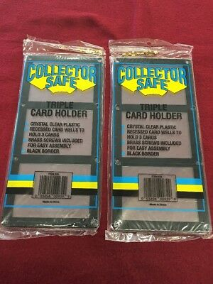 for the Collector /& Investor NEW BYGO FREE 2 Baseball Card Sport Card Holder