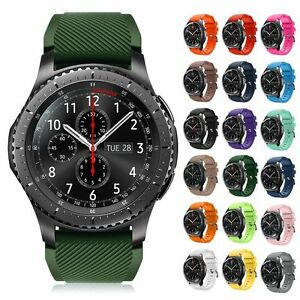 super populaire cb17d 77811 Details about For Samsung Galaxy Gear S3 Classic/Frontier Belt Sport Band  Strap Watch Bracelet