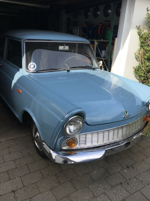 DKW Junior, 0,8 Sedan, Benzin, 1961, km 33333, blå, 2-dørs,…