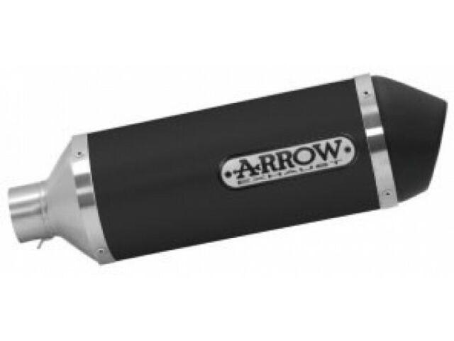 "53521ANN - Terminale Scarico Arrow Urban Alluminio ""Dark"" Yamaha NMAX 155 (17)"
