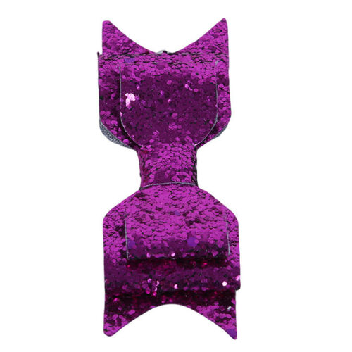 Sequin Hair Bowknot Hair Clips For Women Girls Glitter Bow Party Hairgrips LH