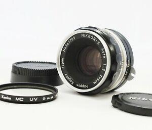 Exc-Nikon-Nippon-Kogaku-Nikkor-S-Auto-Non-Ai-5cm-50mm-F-2-Lens-from-Japan