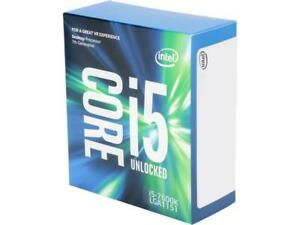 Intel Core i5-7600K Kaby Lake Quad-Core 3.8 GHz LGA 1151 91W BX80677I57600K Desk