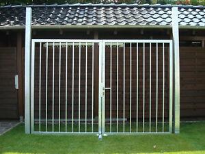 Einfahrtstor Hoftor Gartentor 3 00m X 2 00m Stabfullung Zaun Tor