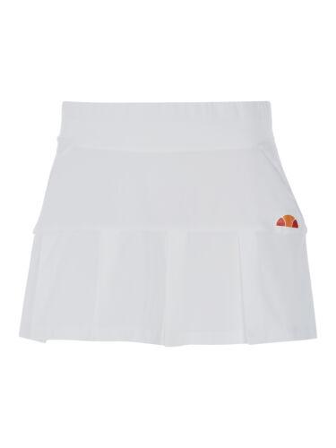 Ladies ellesse Annabelle pleated Tennis Skort White