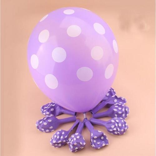 "10x12/"" POLKA DOT BABY SHOWER BALLOON Birthday Party Wedding Christening Balloons"