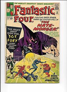 Fantastic-Four-21-December-1963-1st-The-Hate-Monger-Sgt-Fury-cameo