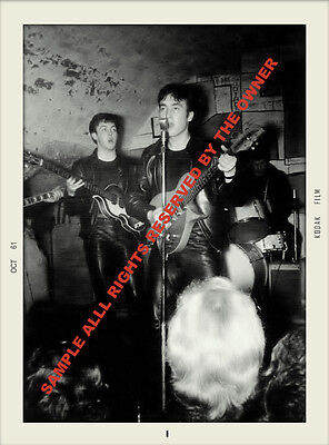 The Beatles Cavern Club set 1961-63 Amazing snap shot set High qual paper PROLAB
