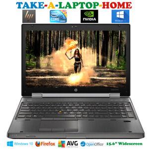 HP-EliteBook-i5-Radeon-Gaming-Laptop-15-6-034-WorkStation-500Gb-HUGE-10Gb-Ram-DVDRW