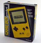 Nintendo Game Boy Pocket Launch Edition Yellow Handheld System