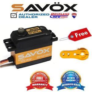 Savox-SV-1272SG-Monster-Torque-High-Voltage-Digital-Servo-Free-ALU-servo-horn-GD