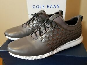 Image is loading Womens-Cole-Haan-Shoes-StudioGrand-Weave-Leather-Size-