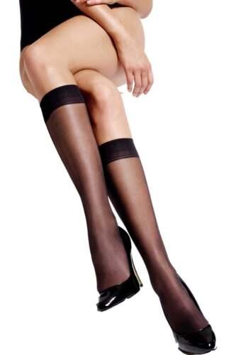 Charnos Run Resist Knee Highs 10 Denier 2 Pair Pack Trouser Socks