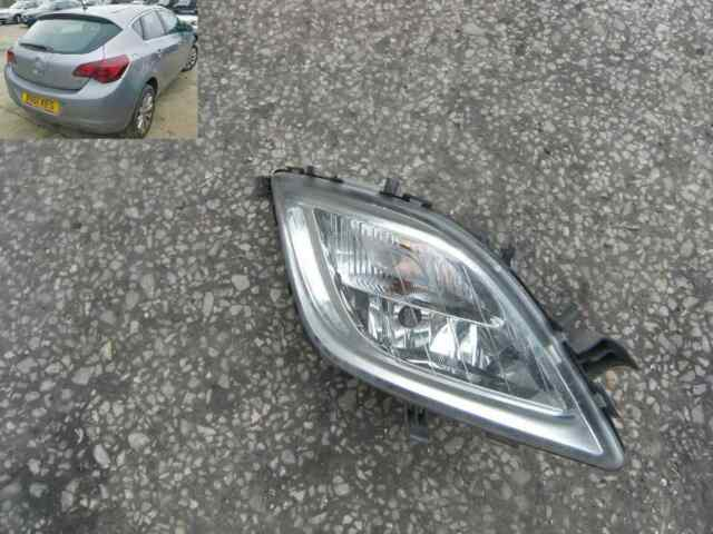VAUXHALL ASTRA J 5DR 2010-2013 Spotlight Chrome With Indicator Offside R//H