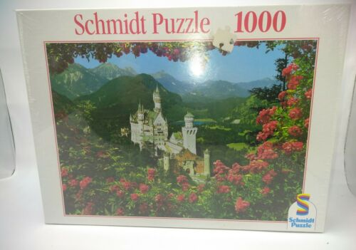 Schmidt Jigsaw Puzzle 1000 Pieces Neuschwanstein Castle in Germany, Bavarian