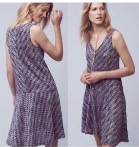 9405d1d3f14f Maeve Anthropologie Women Dress Sz Large Drop Waist Sleeveless Knit ...