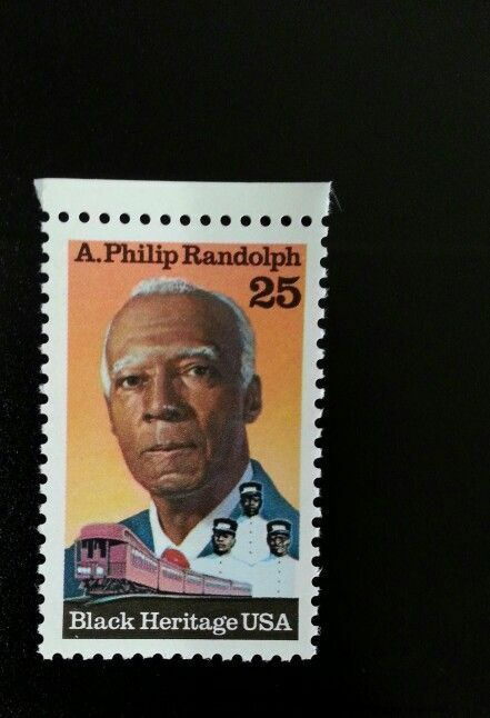 1988 25c A. Philip Randolph, Civil Rights Scott 2402 Mi